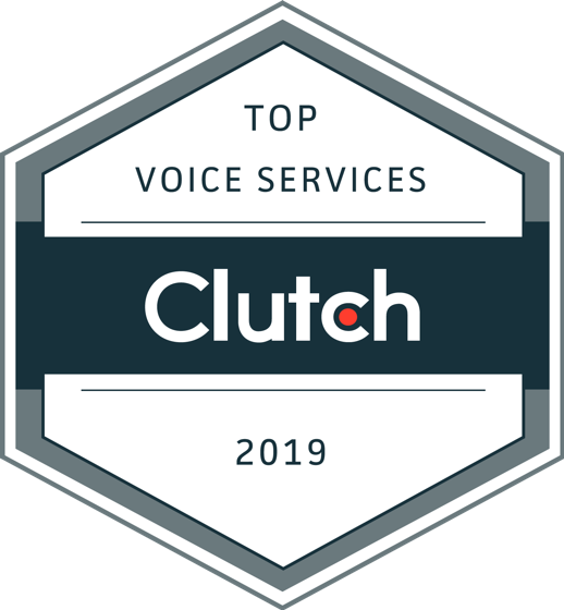 Clutch Votes CIENCE Top Company - Voice Services