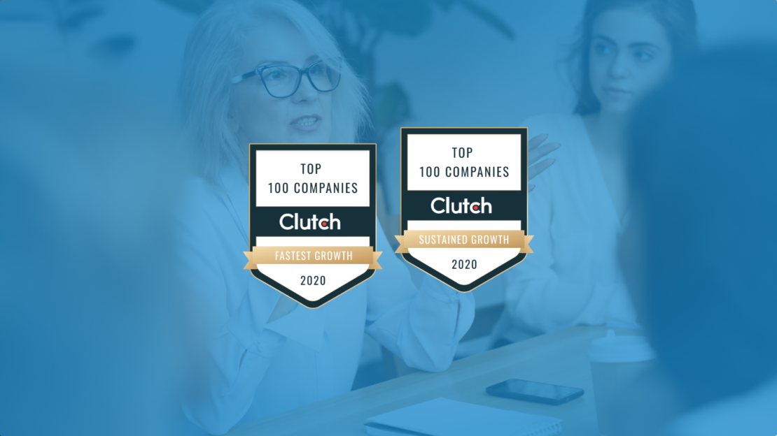CIENCE Gets Two Awards in the Top 100 Clutch List: Fastest Growth and Sustained Growth
