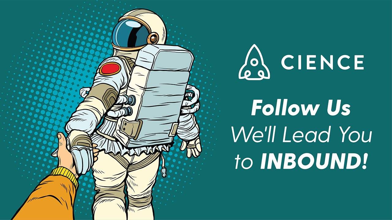 Follow us we'll lead you to INBOUND
