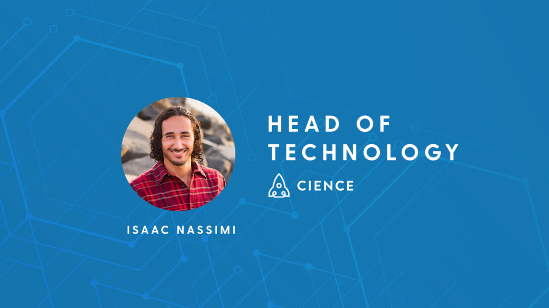 CIENCE Appoins Isaac Nassimi as a Head of Technology