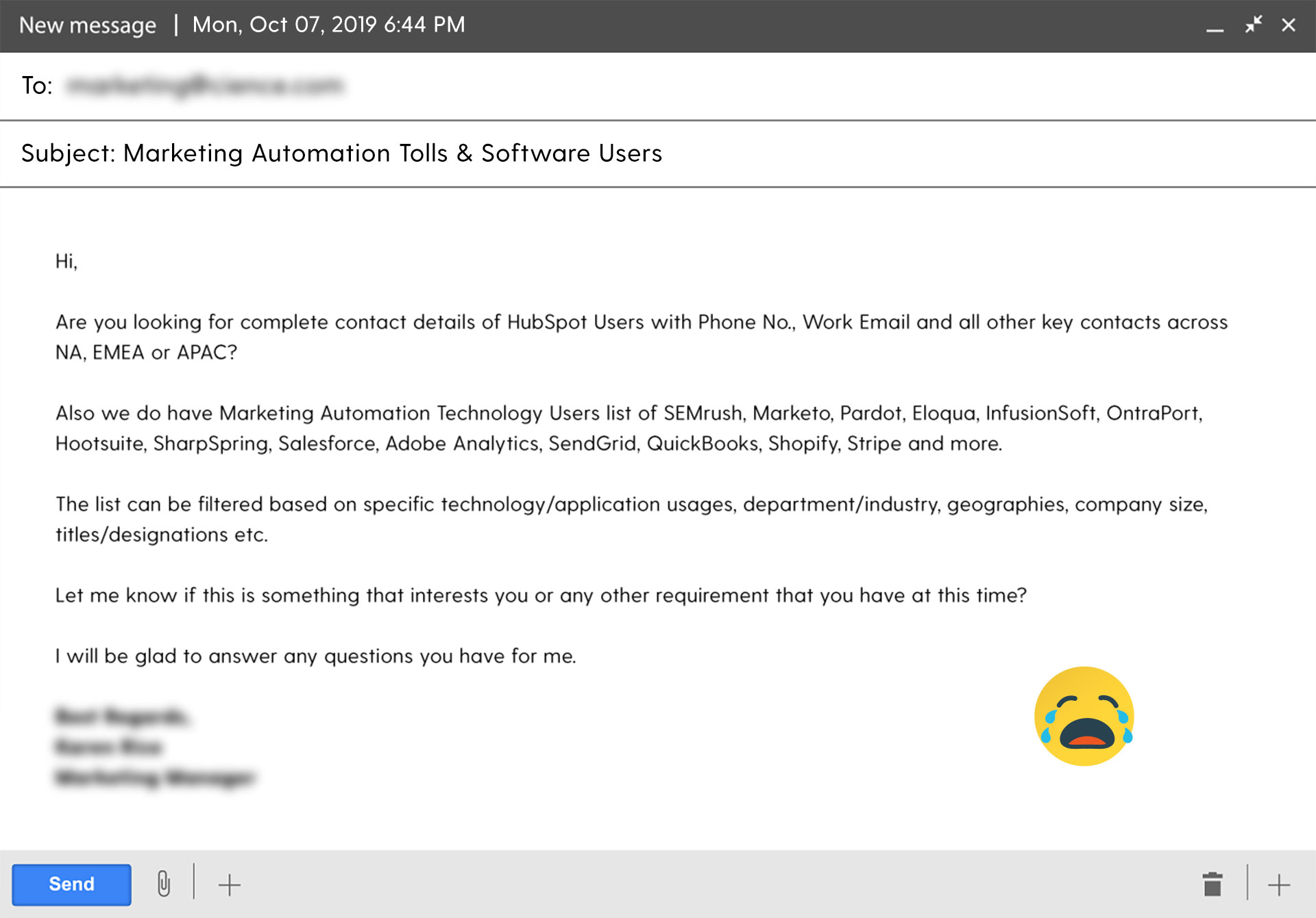 ugly email of November