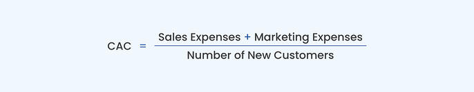 CAC formula - Customer Acquisition Cost
