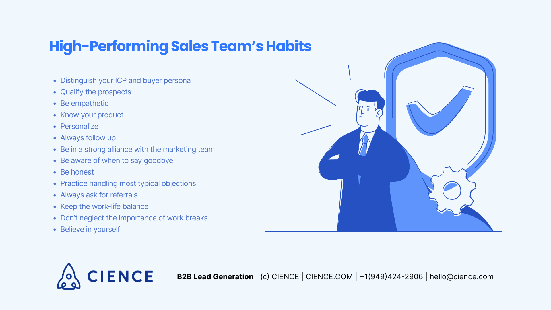 Habits of High-Performing Sales Team