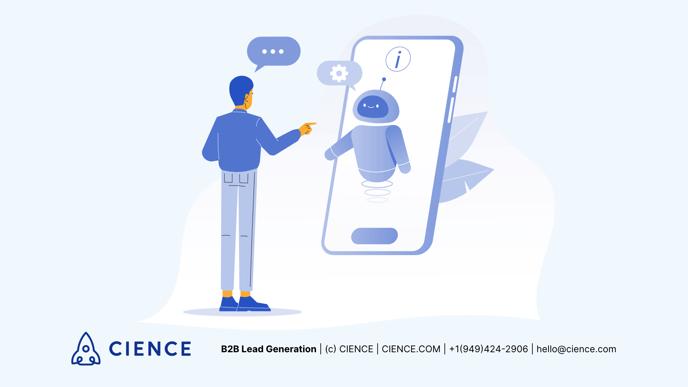 Using chatbots for b2b lead generation
