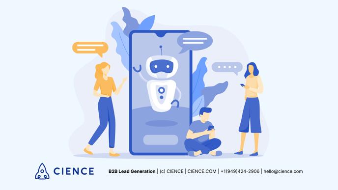 b2b lead generation and chatbots