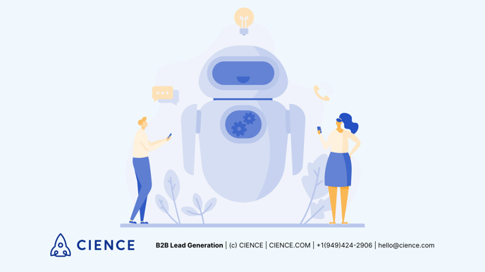 chatbot for b2b lead gen
