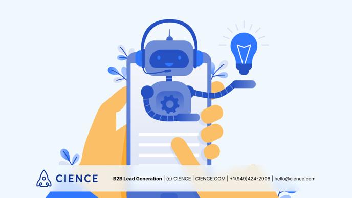 do chatbots help b2b lead generation?