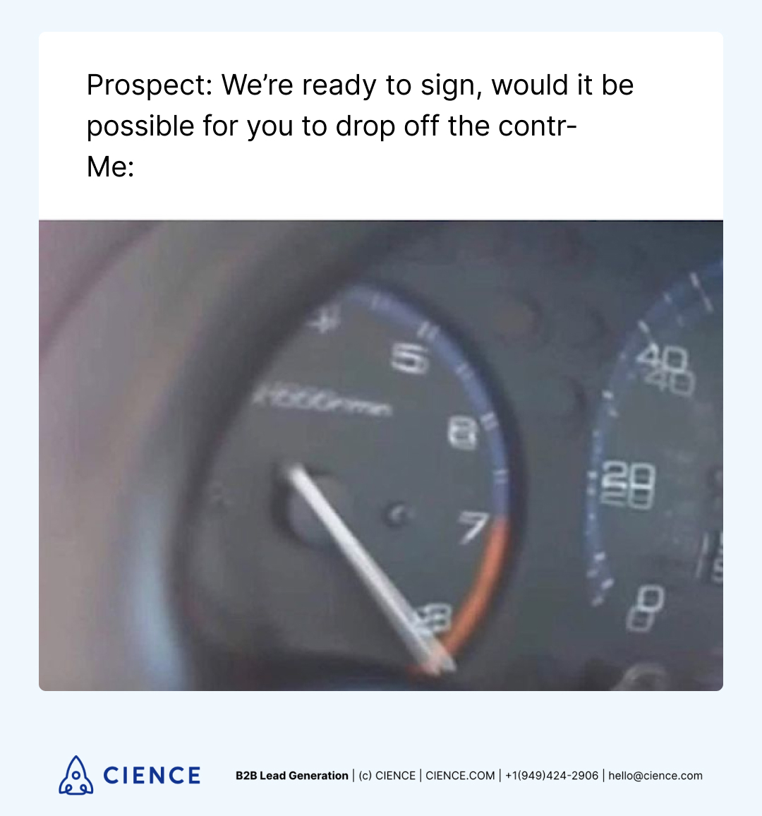 Funny sales memes about prospects