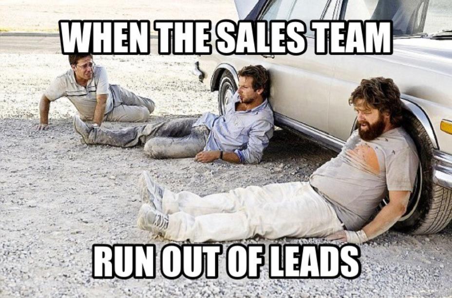 Sales leads memes