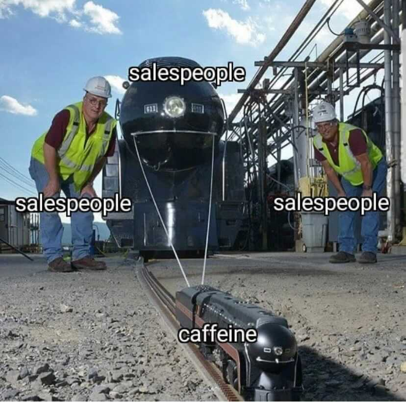 Funny memes about sales people